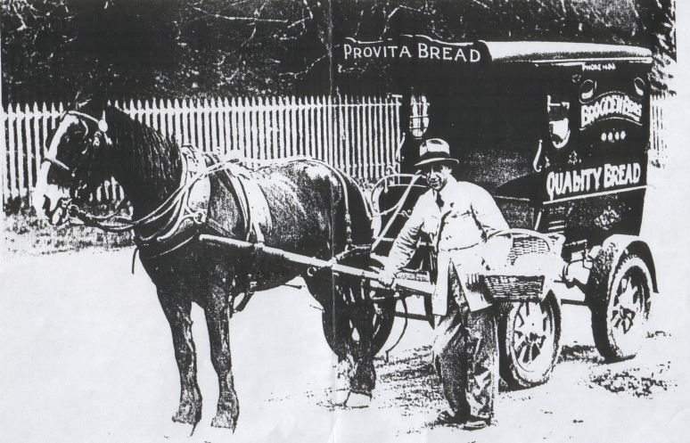 Australian Horse Drawn delivery cart